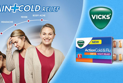 Action Cold & Flu от Vicks