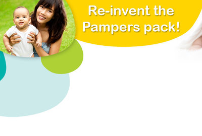 Réinventez le packaging de Pampers