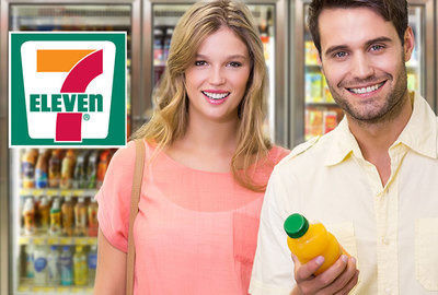 7-Eleven: a cold drink at every visit!