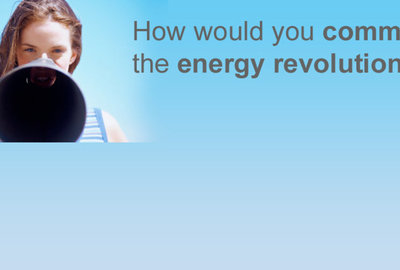 How would you communicate the energy revolution