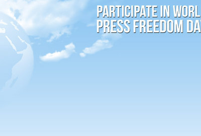 Create a poster for World Press Freedom Day!