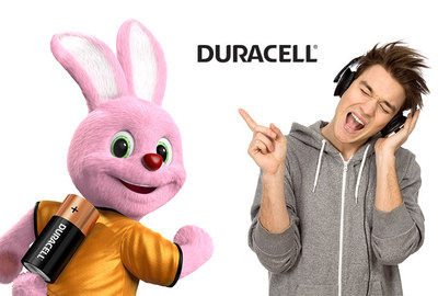 Running on Duracell print