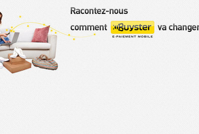 Buyster l'e-paiement mobile