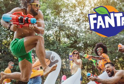 Stay playful with Fanta!