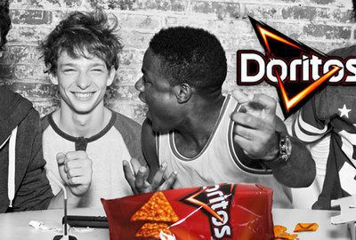 Bold packaging for a big Doritos buzz