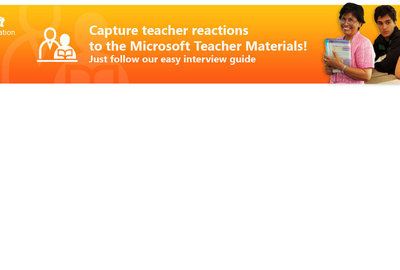Your Microsoft Teacher Interview
