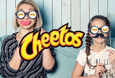 Packaging Cheetos: divertimento in famiglia