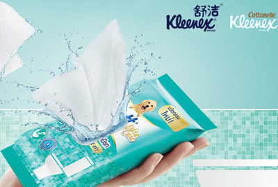 Kleenex Moist Toilet Tissue