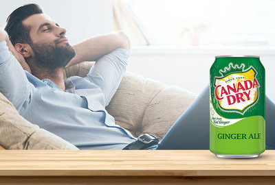 Relax with Canada Dry®