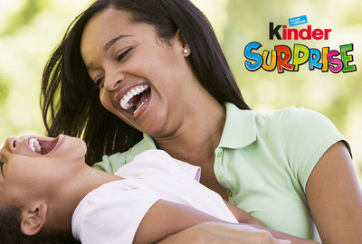 Kinder Surprise brings joy and excitement!