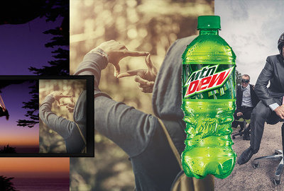 Mountain Dew: No existe hasta que tú lo creas.