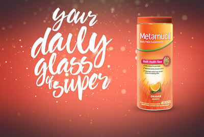Metamucil - Your daily glass of super