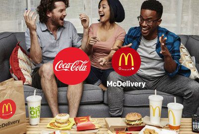 A Drink With Every McDelivery Order