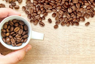 Whole beans coffee accessories