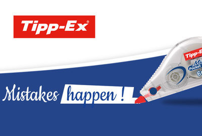 Tipp-Ex – Mistakes Happens