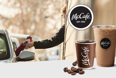 McCafé Brewed Coffee Naming
