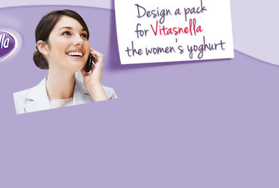 Design the Vitasnella yoghurt pack