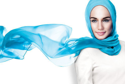 Hijabi women: Beautiful hair communication