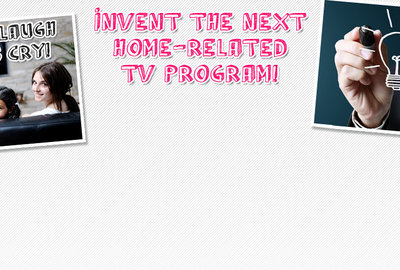 Invent a new TV program