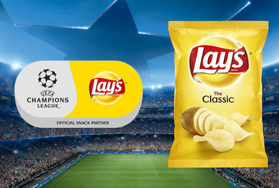 UEFA and Lay's chips